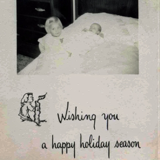 1954 Holiday Card